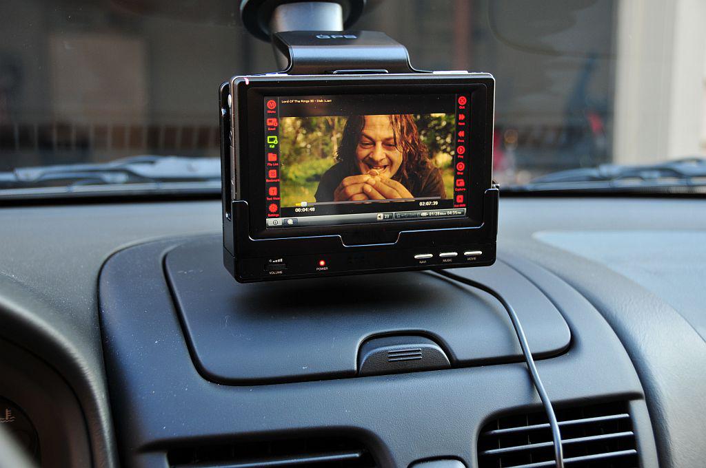 Regarder des films dans ma voiture